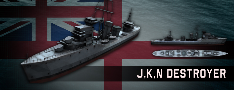 J, K, N Destroyer