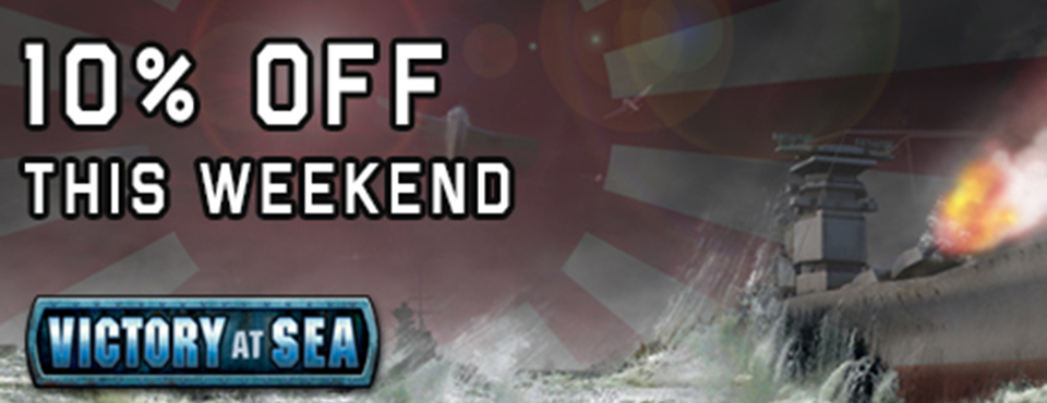 Victory At Sea – 10% off SALE – this weekend only